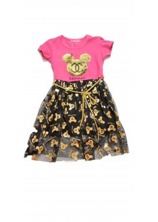 Летнее платье для девочек  Минни